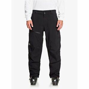 Quiksilver forever 2l gore-tex pant true black 2021 pantaloni snowboard new
