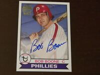 2016 Topps - Archives - Autograph - Bob Boone - Card # FFA-BB