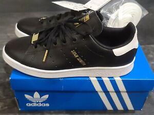 Adidas Stan Smith Black FV3612 UK 4.5 US 5 Brand New Rrp £44.95 ⚫⚫⚫