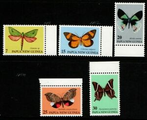 Papua New Guinea 1979 Moths MNH