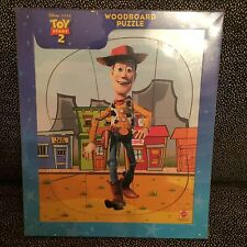Toy Story 2 Sheriff Woody - Wood Board Puzzle - Mattel - 8 Pieces - New Unopened