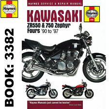 Kawasaki ZR550 ZR750 Zephyr Fours 1990-97 Haynes Workshop Manual