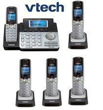Vtech DS6151 DECT 5 Phone 2-Line Cordless Phone DS6151 + 4 DS6101 Telephone Set