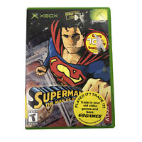 Xbox Superman: The Man of Steel Microsoft Original Video Game No Manual W/ Case