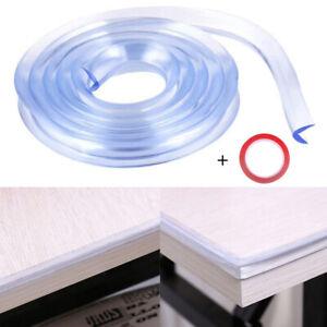 Foam Bumper Desk Corner Protector Guard Strip Baby Safety Table Edge