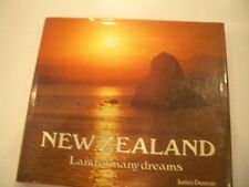 NEW ZEALAND: Land of many dreams by James Duncan (Brand New) Table Pictoral Book