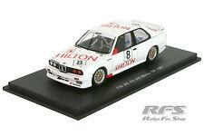 BMW m3 e30-Macao GP 1987-Fabien Giroix Hilton racing team 1:43 spark sa034