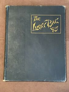 1895 Lucky Bag Yearbook USN United States Naval Academy Annapolis, MD
