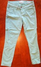 Guess Mint Green Brittney Cropped 25 Jeans Pants