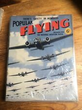 Popular Flying The National Aviation Paper July 1938 Full Year 12 ?