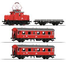 Fleischmann 481702-1 H0 Zugset mit Zahnrad-E-Lok E 69 ++ NEU ++