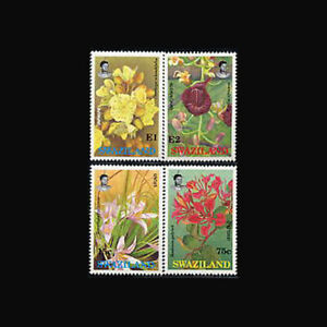 Swaziland, Sc #588-91, MNH, 1991, Flowers, Flora, Plants, A5HII-A