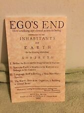 Ego's End: How A Talking Ape Closed Access To Being Addressed To Inhabitants Of
