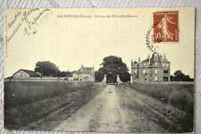 """CPA """" MAUPREVOIR - Château de Philipière (Avenue)"""