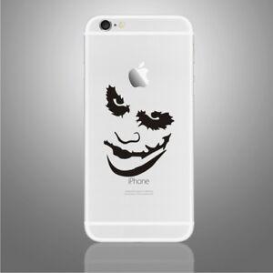 iPhone 6/6s/7/8/X Joker 'Why so serious' Apple decal sticker art (NEW)