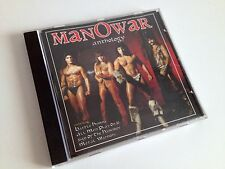 MANOWAR Anthology CD UK Connoisseur Collection