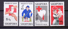 Albanië 1221-24 ** rode kruis; Red Cross; croix rouge; rotes Kreuz 138