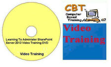 Learning To Administer Microsoft SharePoint Server 2013 Video Training DVD