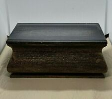 Handmade Wood Casket For Hamster, Mouse Small Animal - Magnetic Top, Cloth Bag
