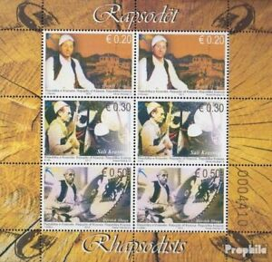 kosovo 265I-267I Sheetlet (complete issue) unmounted mint / never hinged 2013 Si