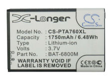 Replacement Battery For Pantech 3.7v 1750mAh/6.48Wh Mobile, SmartPhone Battery