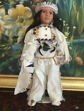 I am Monbezuma 22'' Tall From The Crimson Handcrafted Porcelain Collection