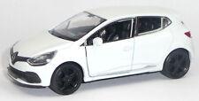 Renault Clio RS Modellauto ca. 1:34 / 11,5 cm weiß Spritzguss WELLY Neuware