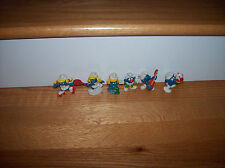 Smurfs Vintage Schleich Peyo Cake Toppers Mermaid Clown Lot Smurf Sports Sanrio