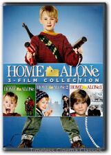 Home Alone, Home Alone 2: Lost In New York, Home Alone 3 DVD New Macaulay Culkin