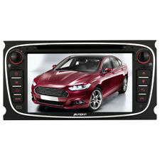 "7"" Autoradio Bluetooth AM FM für Ford Mondeo Focus Smax Galaxy GPS Navi DVD CD"