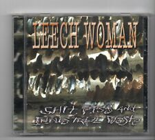 (JQ170) Leech Woman, Shit Piss & Industrial Waste - CD