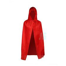 Velvet Cape Little Red Riding Hood Girls Fancy Dress Book Week Childrens Costume
