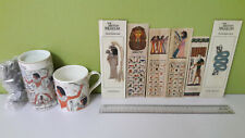BRITISH MUSEUM SOUVENIR ANCIENT EGYPTIAN AZTEC METAL BOOKMARK MUG JIGSAW PUZZLE