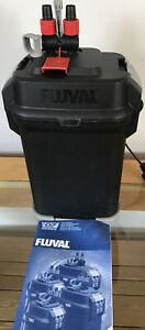 Fluval 307 External Power Filter Inc Media But Excludes All Hose Connectors Etc