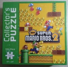 Used New Super Mario Bros. 2 550-Piece Jigsaw Puzzle - USAopoly - COMPLETE