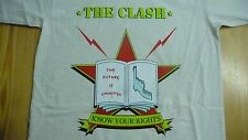 THE CLASH - Know Your Rights T-Shirt Size Medium.Punk,New Wave,Reggae,Strummer