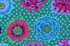 Fat Quarter Kaffe Fassett BIG fioriture Emerald-Rowan cotone tessuti quilting