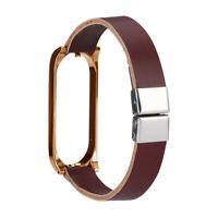 Für Xiaomi Mi Band 4 Leichtes Leder Schnallenriemen Armband Smart Watch Armband