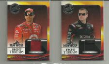 JUAN MONTOYA & M. McDOWELL  *NASCAR, RACE USED SPORTS CARDS