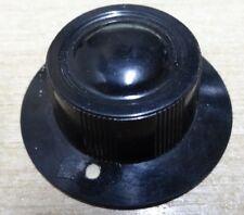 2 vintage Bulgin Bakelite knob 1/4 shaft grub screw fitting 38mm
