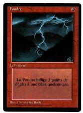 *MRM* FR Foudre ( Lightning Bolt ) Ex/Ex+ MTG FBB