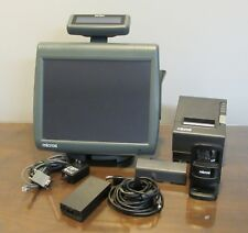 Micros POS WS5A W5A System Workstation 5 Printer Scanner Touchscreen Unit
