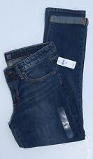 Gap Sexy Boyfriend 26 R Womens Jeans Mid Rise Slim Leg Relaxed Dark Wash