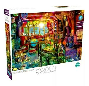 2000 Piece Jigsaw Puzzle Buffalo Games - The Pirate Captains Dream
