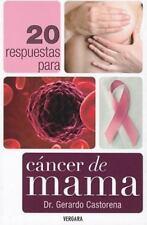 20 respuestas para el cancer de mama (Spanish Edition)-ExLibrary