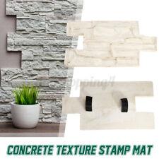 23.6'' Vertical Stamp Stone Decorative Skin Concrete Cement Imprint Texture Mat