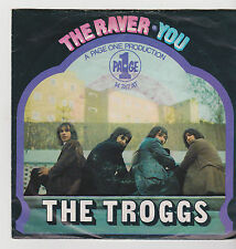 """7"""" THE TROGGS THE RAVER PAGE ONE ariola 14747 YOU Germany"""