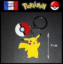Porte Clés NEUF en Métal ! ( Keychain ) - Pokémon Pikachu 5 cm ! ( Ref 2 )