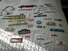 rc car/tool box etc job lot of stickers plus more!!