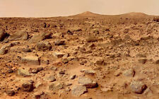 Framed Print - Potential Pyramids & Sphinx on Mars Taken by Pathfinder (Picture)